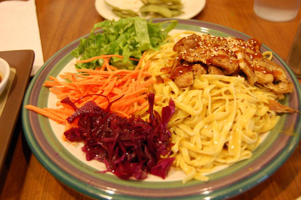 Cold Sesame Noodle Plate @Tien Garden