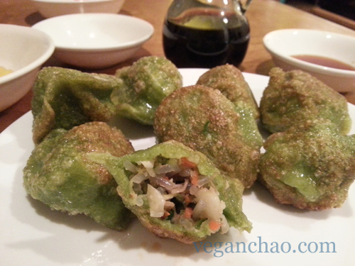 Quite easily one of my favorite dumplings of all time. They fill you up quickly!