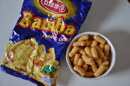 The ever-elusive Bamba snack.