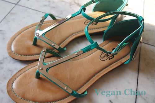These sandals would look good on anyone-- warrior princess or not.