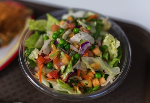 Kind of like eating water--- salad should never serve as an entree, y'all!
