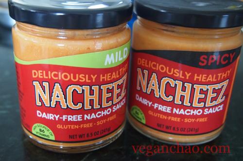 Nacheez Vegan Cheese Nacho Dip