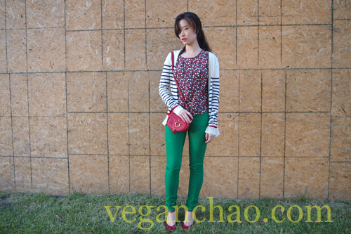 Spring Summer Fashion Color Vegan