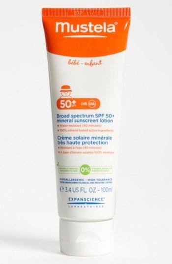 Mustela SPF 50 Sunscreen