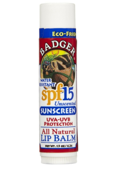 Badger Balm SPF 30 Lip Balm
