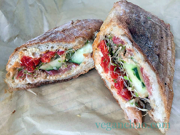The Picnic Basket nyc veggie sandwich