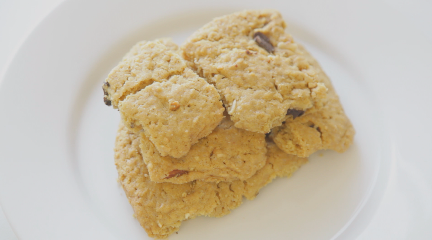 vegan chao chocolate chip cookie recipe video