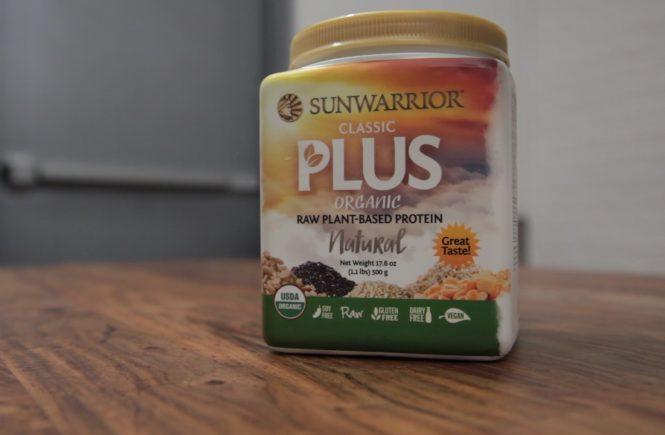 sunwarrior plant protein vegan review