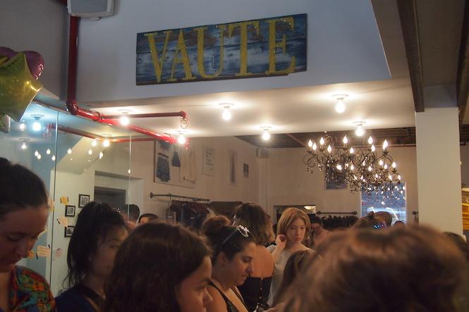 vaute couture vegan store opening nyc3020