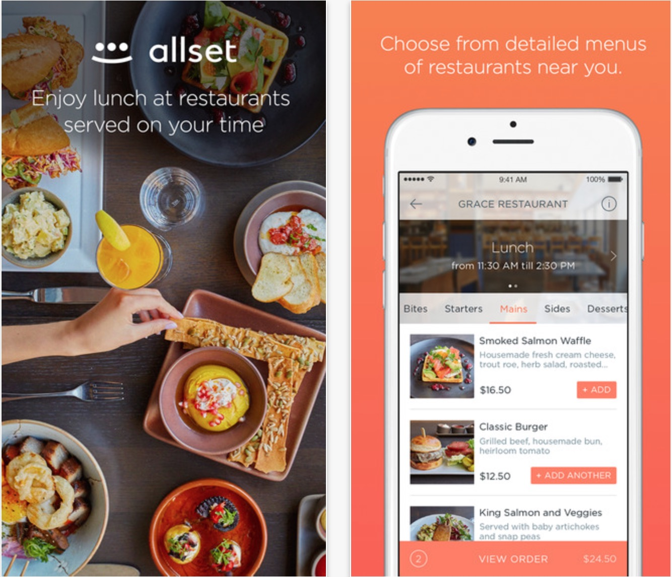 allset app restaurant no wait