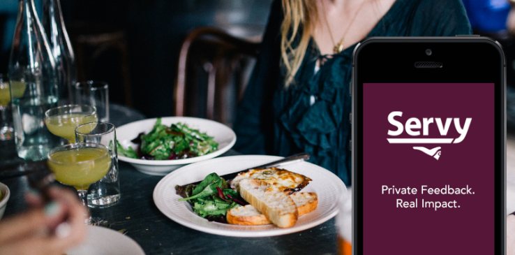 servy app restaurant feedback